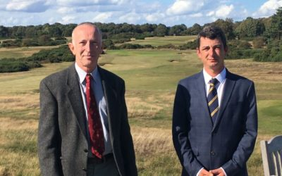 Course Manager Of Aldeburgh Golf Club Retires